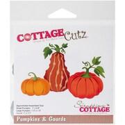 """CottageCutz Die-Pumpkins & Gourds, .8""""X1.7"""""""