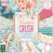 "First Edition Premium Paper Pad 8""X8"" 48/Pkg-Paradise Crush, 16 Designs/3 Each"
