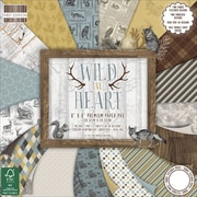 "First Edition Premium Paper Pad 8""X8"" 48/Pkg-Wild At Heart, 16 Designs/3 Each"