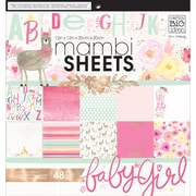 "Mambi Single-Sided Paper Pad 12""X12"" 48/Pkg-She's So Lovely"