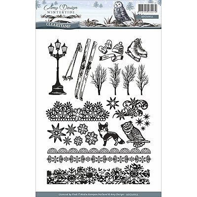 Find It Trading Amy Design Clear Stamps-Wintertide