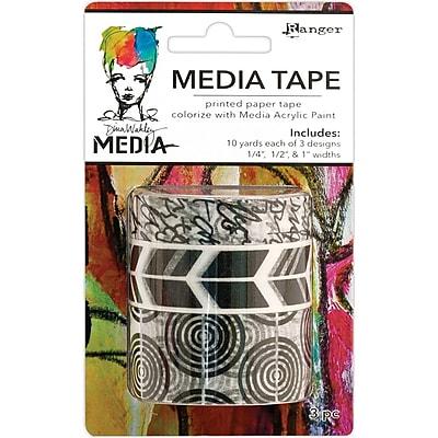 Dina Wakley Media Tape 3/Pkg-Printed
