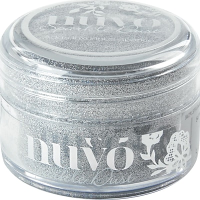 Nuvo Sparkle Dust .5oz-Silver Sequin