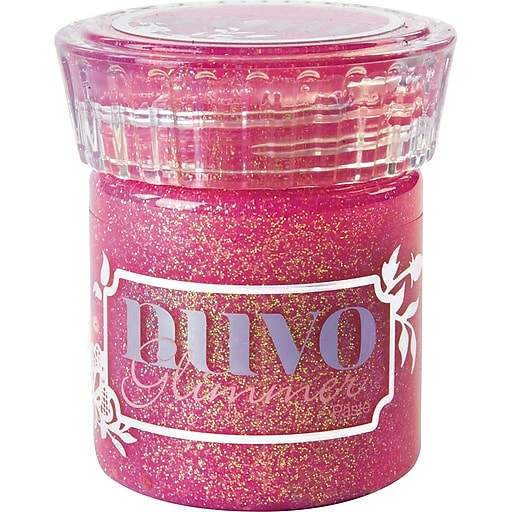 Nuvo Glimmer Paste 1.6oz-Pink Opal