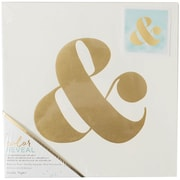"Color Reveal Watercolor Panel 10""X10""-Ampersand Symbol"