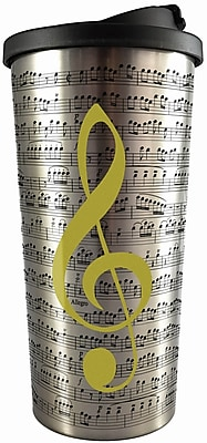 Spoontiques Music Stainless Travel Mug (20827)