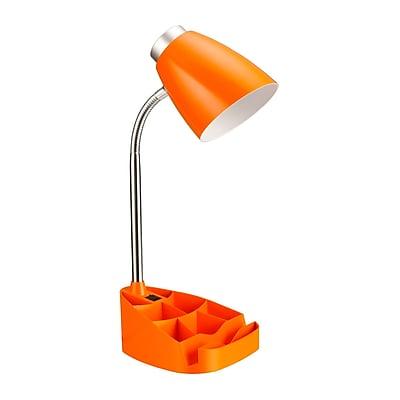 Limelights Incandescent Desk Lamp, Orange (LD1002-ORG)
