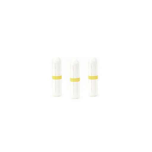 Aunt Flow 100% Organic Cotton Non-Applicator Tampons, Regular, 500/Case (ATF00121)