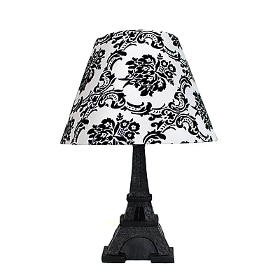 Elegant Designs Table Lamp, Eiffel Tower Paris (LT3010-DSK)