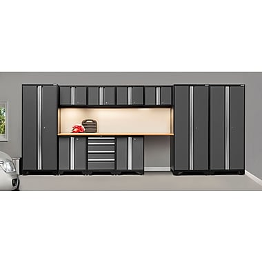 NewAge Products Bold 3.0 Series, 12-Piece Garage Cabinet Set, Gray (50084)