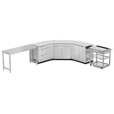 NewAge Products Outdoor Kitchen 10-Piece Set Stainless Steel Classic, 210