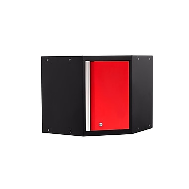 NewAge Products Pro 3.0 Series Corner Cabinet, Red (52201)