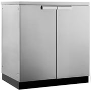 "NewAge Products Outdoor Kitchen 2-Door Cabinet Stainless Steel Classic, 32""W X 23""D (65000)"