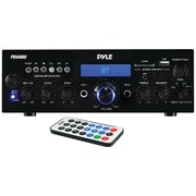Pyle Home Pda6bu 200-watt Bluetooth Stereo Amp Receiver With Usb & Sd Card Readers (93599020M)