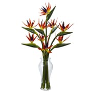 "Nearly Natural Birds of Paradise in Vase 19"" Multi (1449)"