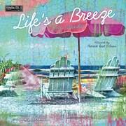 WSBL Life's A Breeze 2018 12X12 Wall Calendar (18997001722)