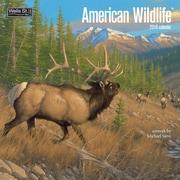 WSBL American Wildlife 2018 12X12 Wall Calendar (18997001720)