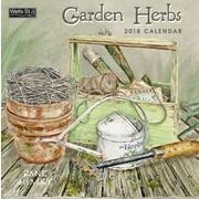WSBL Garden Herbs 2018 12X12 Wall Calendar (18997001726)