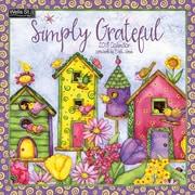 WSBL Simply Grateful 2018 12X12 Wall Calendar (18997001728)