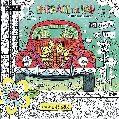 WSBL Embrace The Day, Coloring 2018 Coloring 12