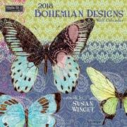 WSBL Bohemian Designs 2018 12X12 Wall Calendar (18997001713)