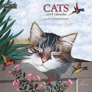 WSBL Cats 2018 12X12 Wall Calendar (18997001718)