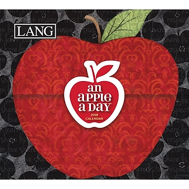 LANG An Apple A Day 2018 365 Daily Thoughts (18991015500)