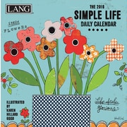 LANG Simple Life 2018 Box Calendar (18991030053)