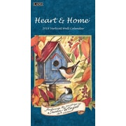 LANG Heart & Home 2018 Vertical Wall Calendar (18991079118)