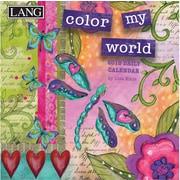 LANG Color My World 2018 Box Calendar (18991030051)