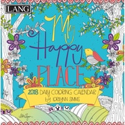 LANG My Happy Place 2018 Box Calendar (Coloring) (18991023014)