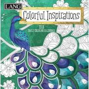 LANG Colorful Inspirations 2018 Box Calendar (Coloring) (18991023015)