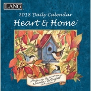 LANG Heart & Home 2018 Box Calendar (18991030052)