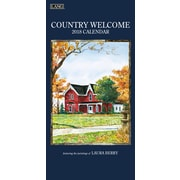 LANG Country Welcome 2018 Vertical Wall Calendar (18991079116)