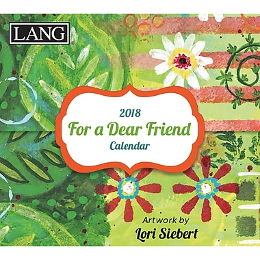 LANG For A Dear Friend 2018 365 Daily Thoughts (18991015502)