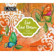 LANG Live Love Dream 2018 365 Daily Thoughts (18991015506)