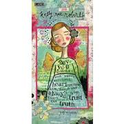 LANG Kelly Rae Roberts 2018 Vertical Wall Calendar (18991079139)