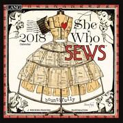 LANG She Who Sews 2018 Mini Wall Calendar (18991079262)