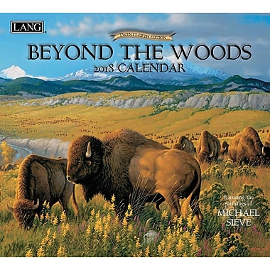 LANG Beyond The Woods 2018 Wall Calendar (18991001894)