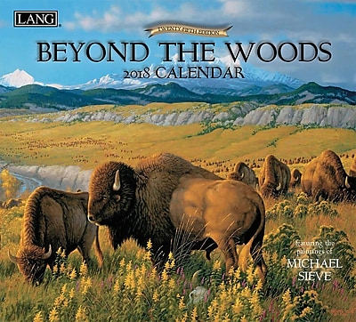 LANG Beyond The Woods 2018 Wall Calendar (18991001894)