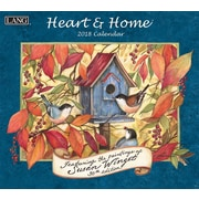 LANG Heart & Home 2018 Wall Calendar (18991001913)