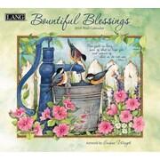 LANG Bountiful Blessings 2018 Wall Calendar (18991001897)