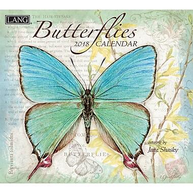 LANG Butterflies 2018 Wall Calendar (18991001898)