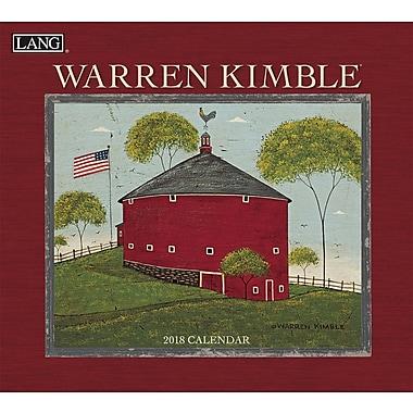 LANG Warren Kimble 2018 Wall Calendar (18991001884)