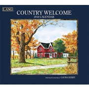 LANG Country Welcome 2018 Wall Calendar (18991001907)