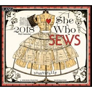 LANG She Who Sews 2018 Wall Calendar (18991001987)