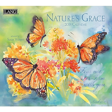 LANG Nature's Grace 2018 Wall Calendar (18991001932)