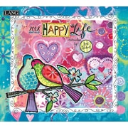 LANG Happy Life 2018 Wall Calendar (18991001982)