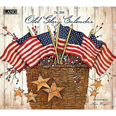 LANG Old Glory 2018 Wall Calendar (18991001934)