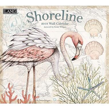 LANG Shoreline 2018 Wall Calendar (18991001993)